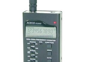 台湾正品ACECO-FC2002 反窃听频率探测器