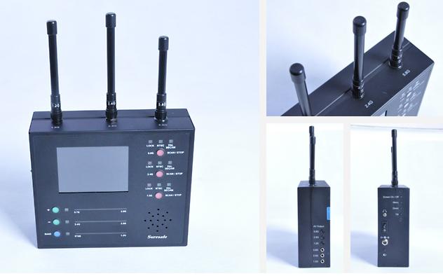 确保安VS-125全频段无线摄像头捕捉仪
